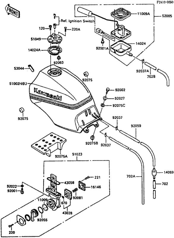 Kawasaki Klf185 Wiring Schematic