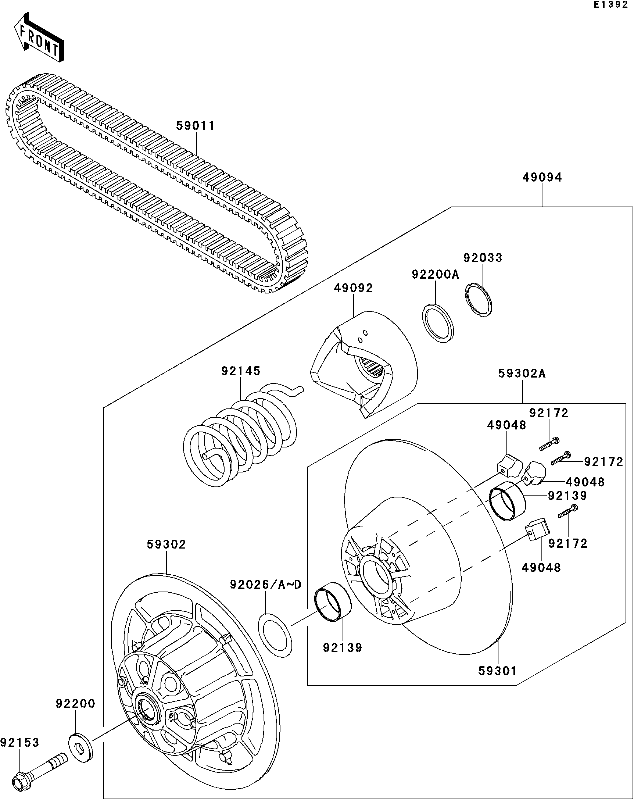 kawasaki mule 4010 electrical box  kawasaki  wiring diagram images